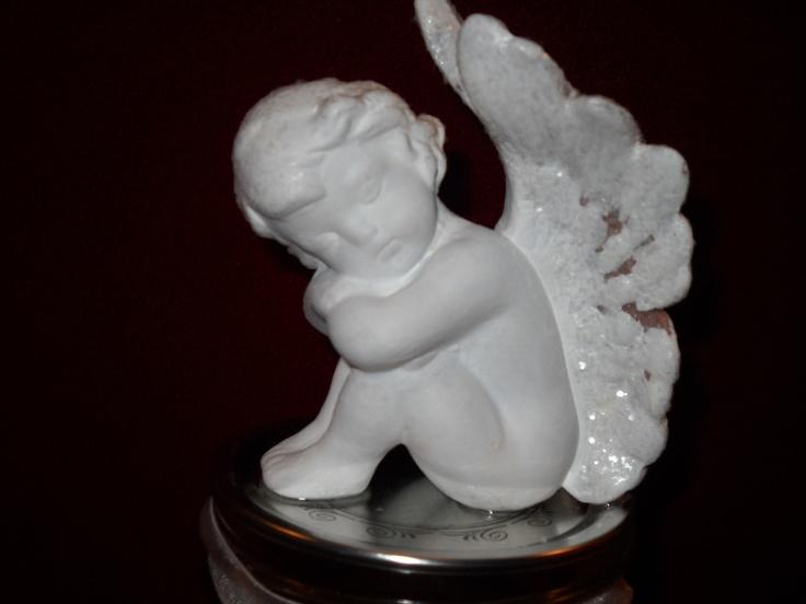 ANGEL PRAYER jar by KellysCraftCreations on Etsy, via Etsy.: Style, Etsy, Angel Prayer, Kellyscraftcreations, Prayer Jar, Jars