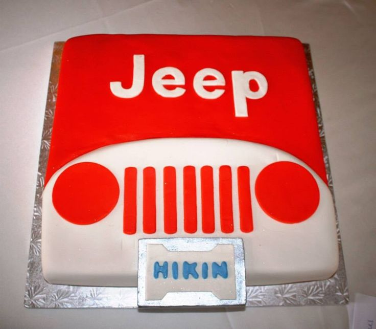 112 best JEEP CAKES images on Pinterest Jeep cake Jeep stuff