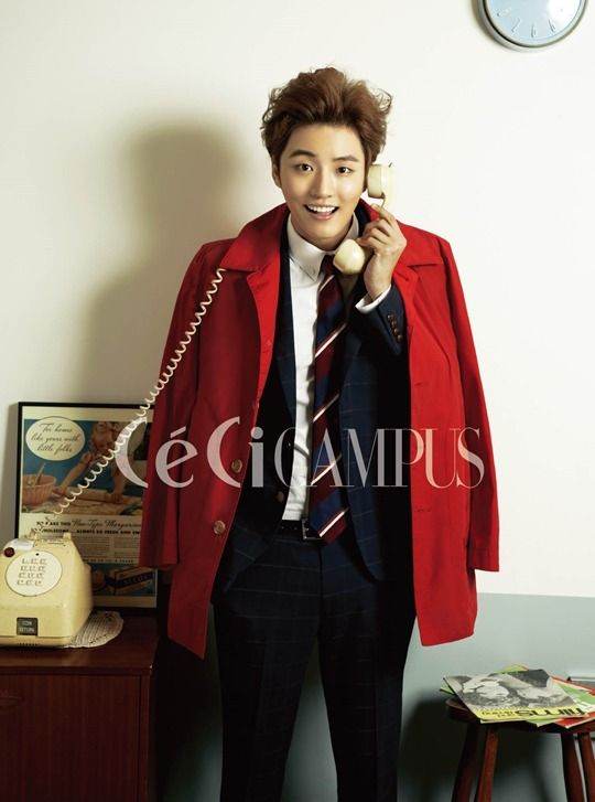 Flower boy next door Yoon Shi-yoon for CeCi » Dramabeans » Deconstructing korean dramas and kpop culture