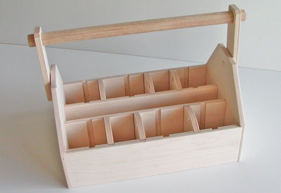 Woodworking Kit - Wood Tool Box or Art Caddy -  Ready Assemble - Looks like a good size and a great project to do - great value!  $34.95 - Very customizable!