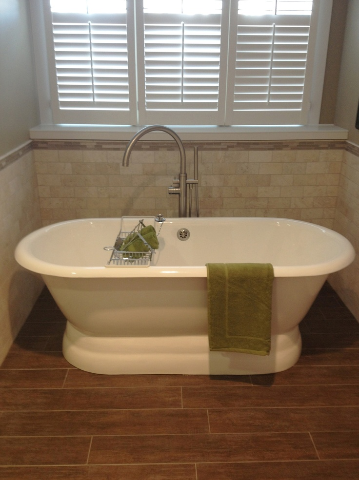 Bathroom Makeovers With Wainscoting 12 best clawfoot tub ideas images on pinterest   bathroom ideas