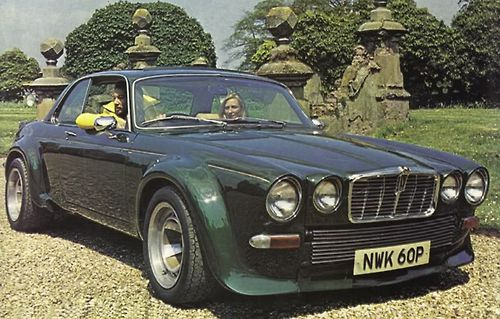 Jaguar XJ12C Broadspeed, as driven by Steed.