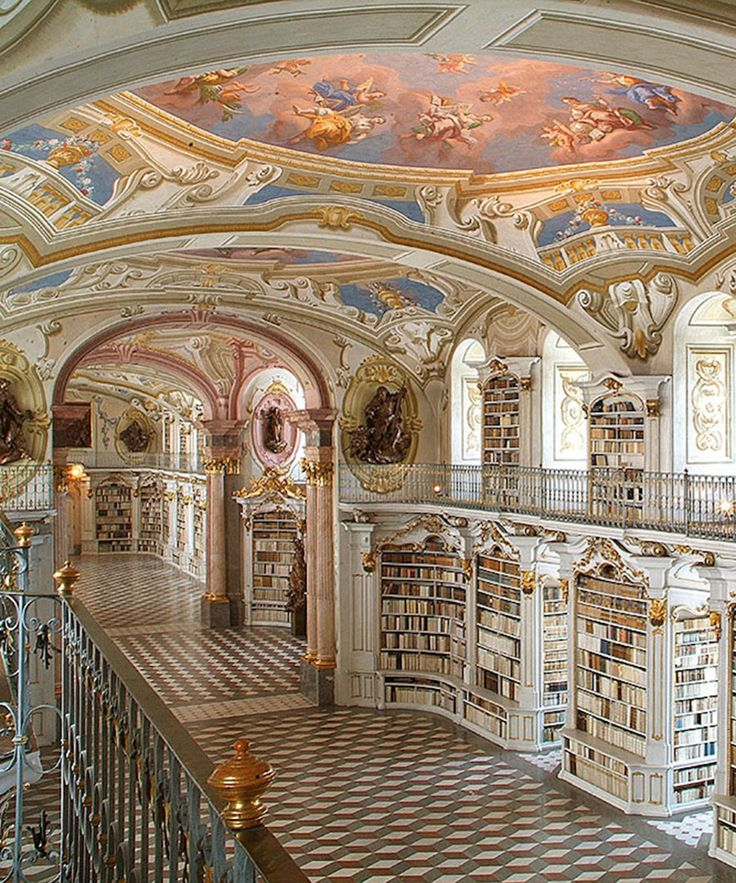 See inside some of the most beautiful libraries around the world, including Austria, Norway, England and Canada.