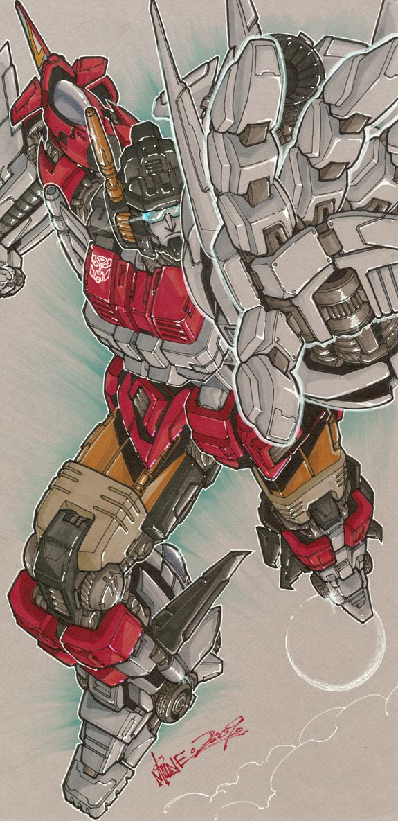 """Superion"" Transformers by http://markerguru.deviantart.com/art/Superion-145542934?q=gallery%3Amarkerguru%2F6117825=0"