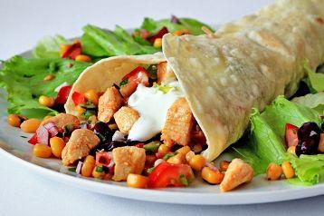 бурито рецепт с фото, быстро и просто, пошаговое приготовление с фото,простые рецепты из курицы,мексиканская кухня бурито, простые рецепты из курицы