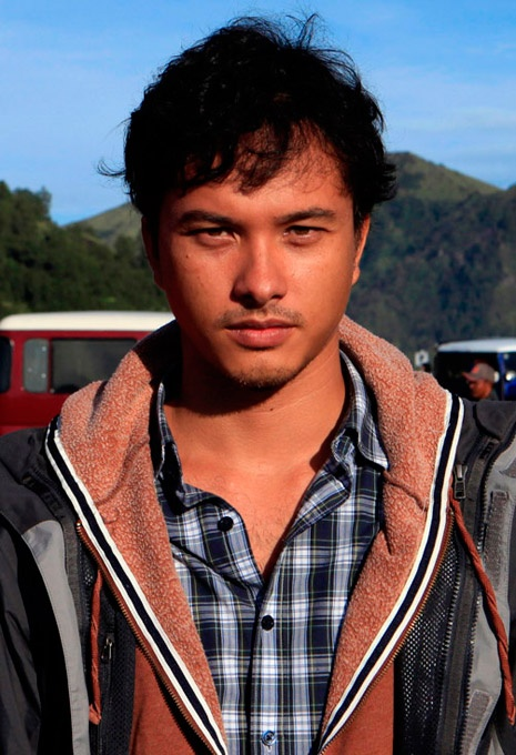 Nicholas Saputra, Indonesian actor.