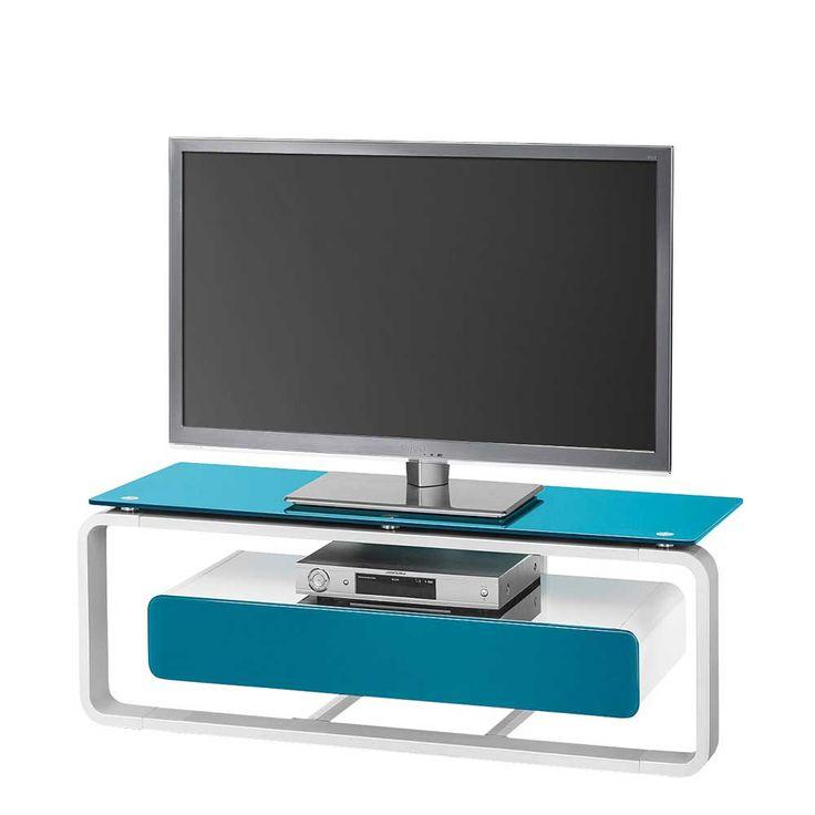 TV Tisch In Blau Weiss Beleuchtung Jetzt Bestellen Unter Moebelladendirektde Wohnzimmer Tv Hifi Moebel Lowboards Uidebf9b7c3 9fe9 53c5 B67f