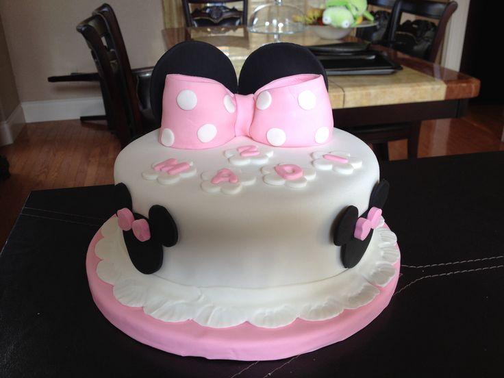 Minnie Mouse Cake Pastel De Mimi Cakes Tortas