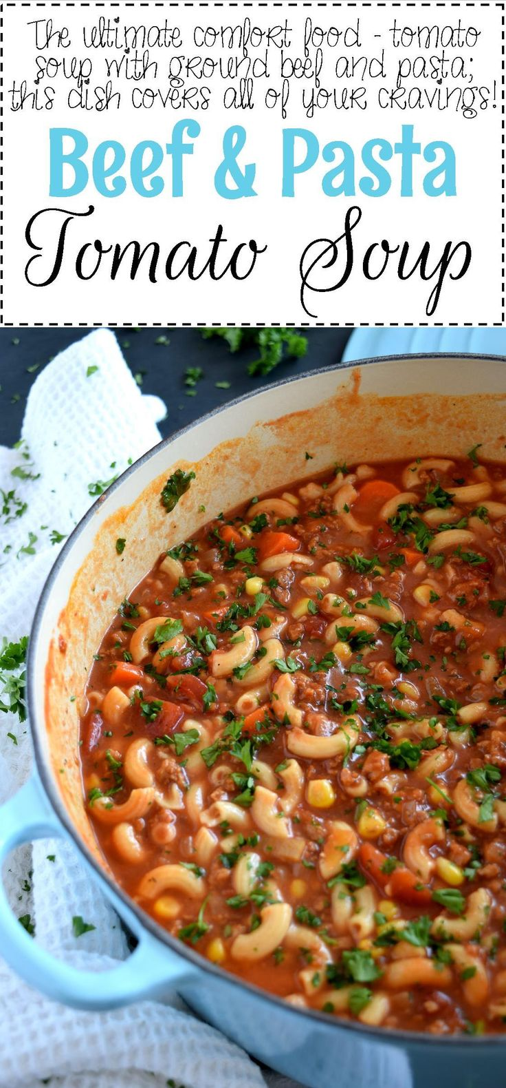 A soup that's a complete meal! Beef and Pasta Tomato Soup covers all the bases in terms of being a well-balanced meal. It's delicious, hearty, mom/dad-approved, and kid-friendly too! If you have a child in your household, you'll be able…