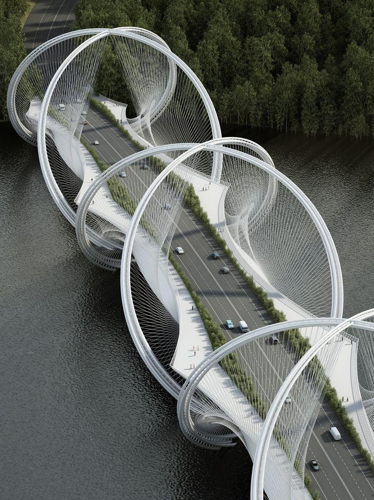 penda designs u0027san shan bridgeu0027 for 2022