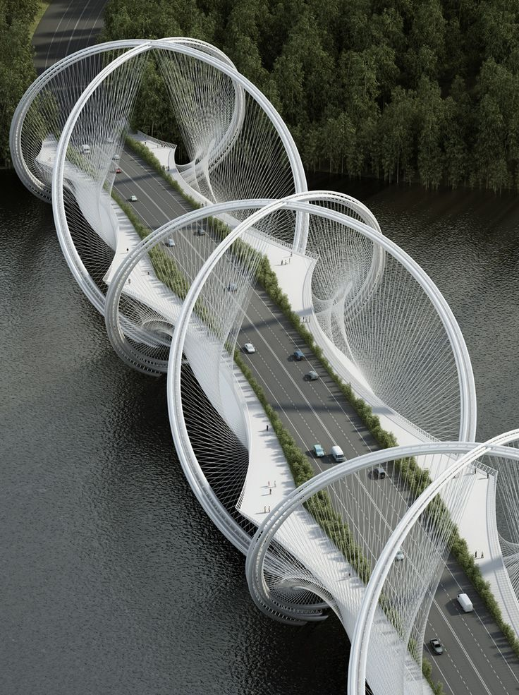 Double-Helix Bridge Design for Beijing Based on Abstracted Olympic Symbol