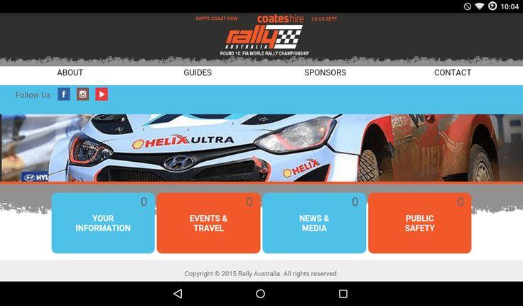 Rally Australia 2015 Android / iOS App - Mini Review