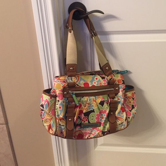Lily bloom purse Lily bloom purse. Good condition. One spot on front at bottom. Lily bloom Bags