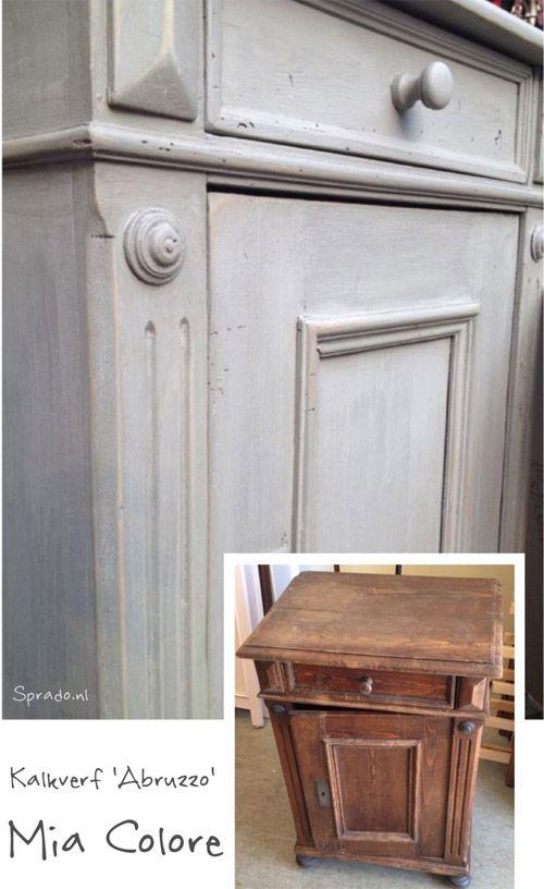 25+ beste idee u00ebn over Oude Meubels Schilderen op Pinterest   Oude meubels restaureren, Meubelen