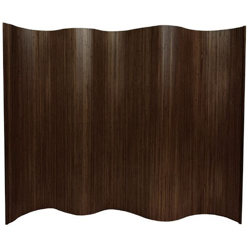 """Found it at Wayfair - Guadalcanal  72.25"""" x 98"""" Tall Wave Room Divider"""