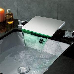 Unique Bathroom Faucet Newest Style LED Faucet