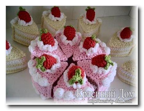 Amigurumi Food : Best amigurumi food desserts cakes candies images on