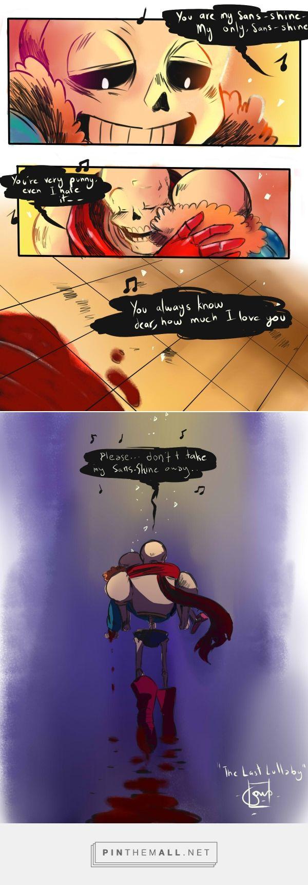 Sans and Papyrus - comic
