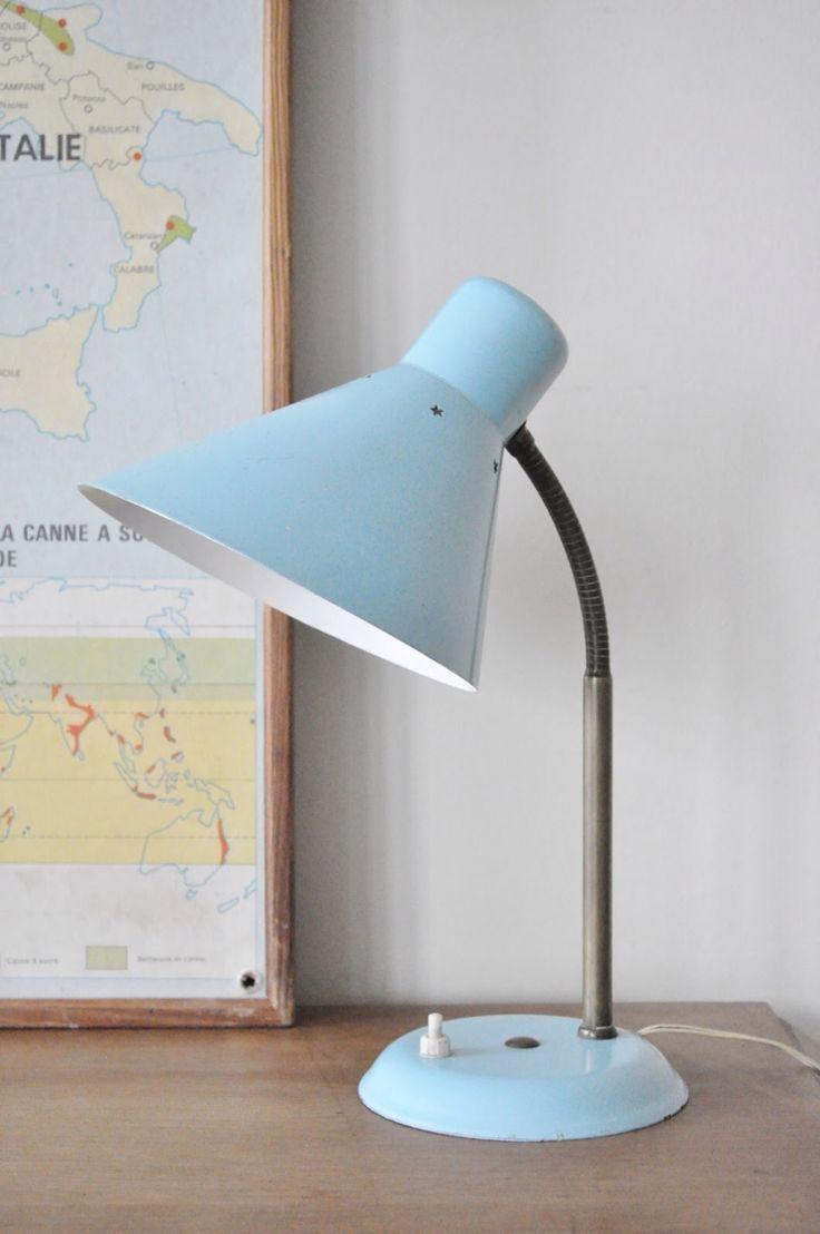 Le Vide Grenier d'une Parisienne : Lampe cocotte