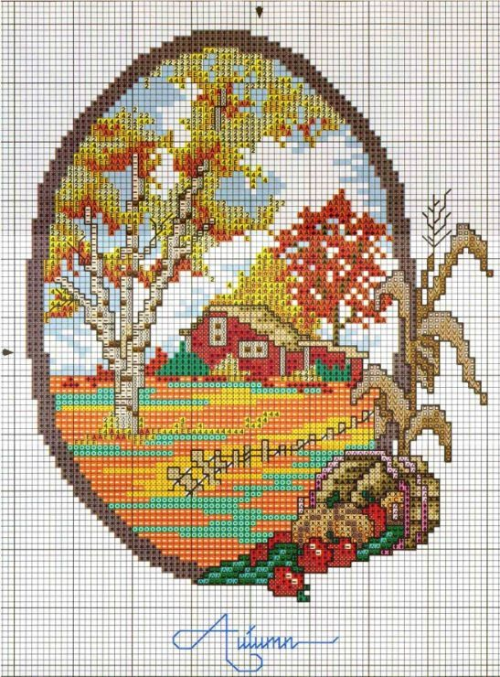 cross stitch -  Gallery.ru / Фото #66 - Сезоны - Nadya-S