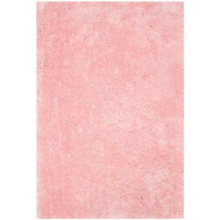 Arctic Shag Pink 6 ft. x 9 ft. Area Rug
