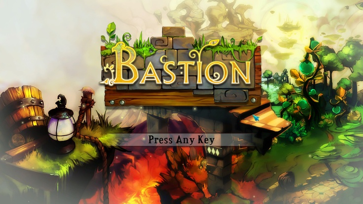 Bastion Title Screen