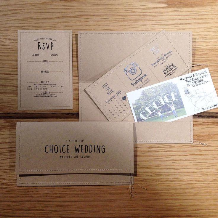 ナチュラルウェディングにピッタリな招待状デザイン集 | marry[マリー]