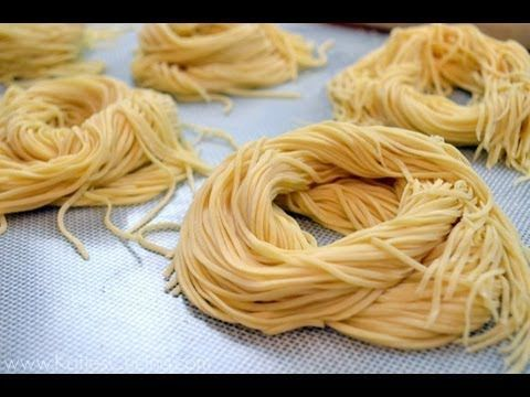 Kitchenaid homemade spaghetti
