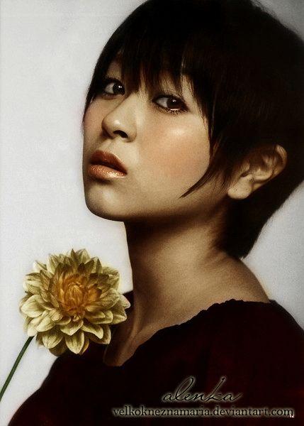 Utada Hikaru by VelkokneznaMaria.deviantart.com on @deviantART