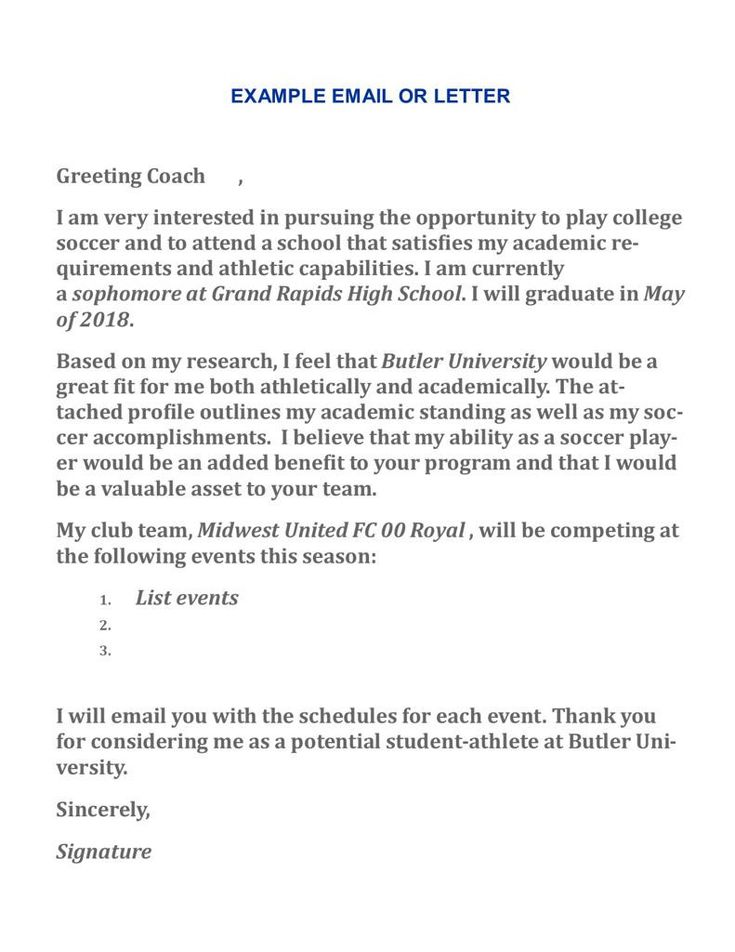 Thank You Letter To College Coach Lovely Writing A Letter To Coaches In 2020 Thank You Letter Scholarship Thank You Letter Formal Business Letter