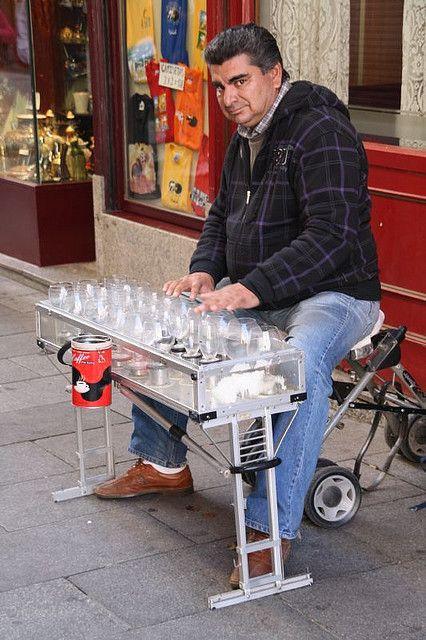 Madrid - Street musician | Flickr - Photo Sharing!