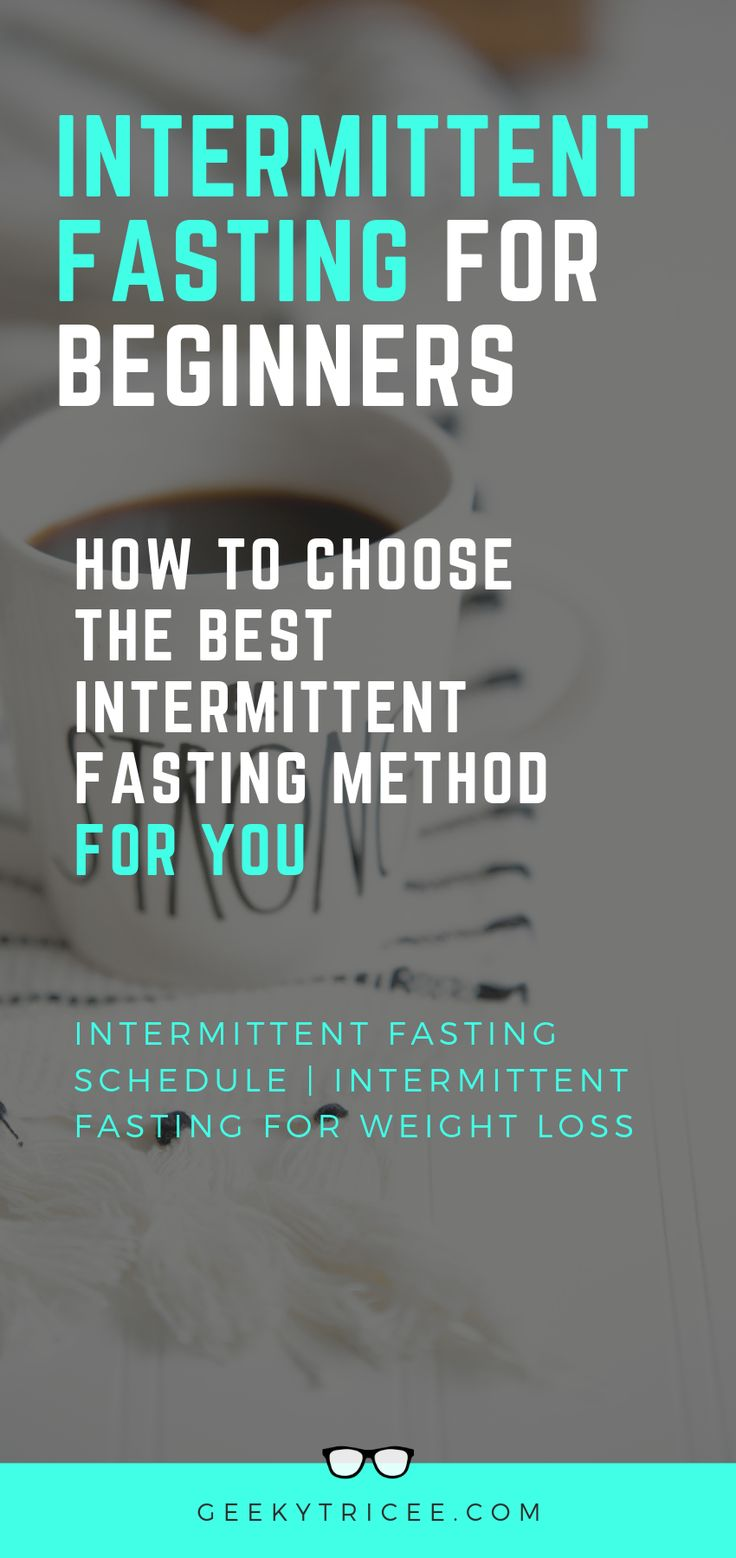 Pin on Intermittent Fasting for Beginners ️