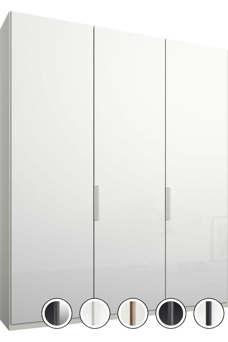Made White Glass Wardrobe Glass Door Glass Wardrobe Glass