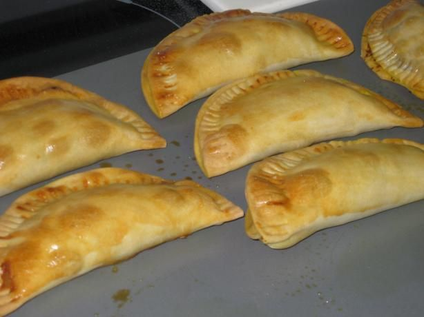 jamaican patty (I would use Morningstar crumbles and veggie stock to make it vegetarian.)