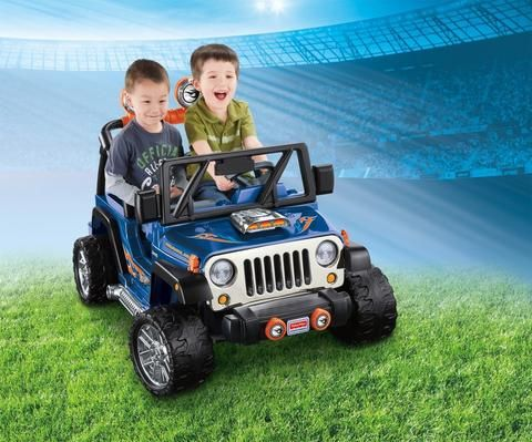 Fisher-Price Power Wheels Hot Wheels Jeep Wrangler | Chickadee ...