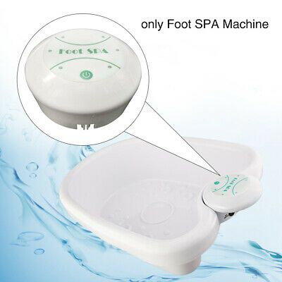 Ion Ionic Detox Foot Bath Spa Machine W Tub Array Cell Cleanse Health Care Tool Ebay In 2020 Foot Detox Bath Ionic Detox Foot Spa Detox