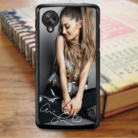 Ariana Grande Smile Cute Signature Nexus 5 Case