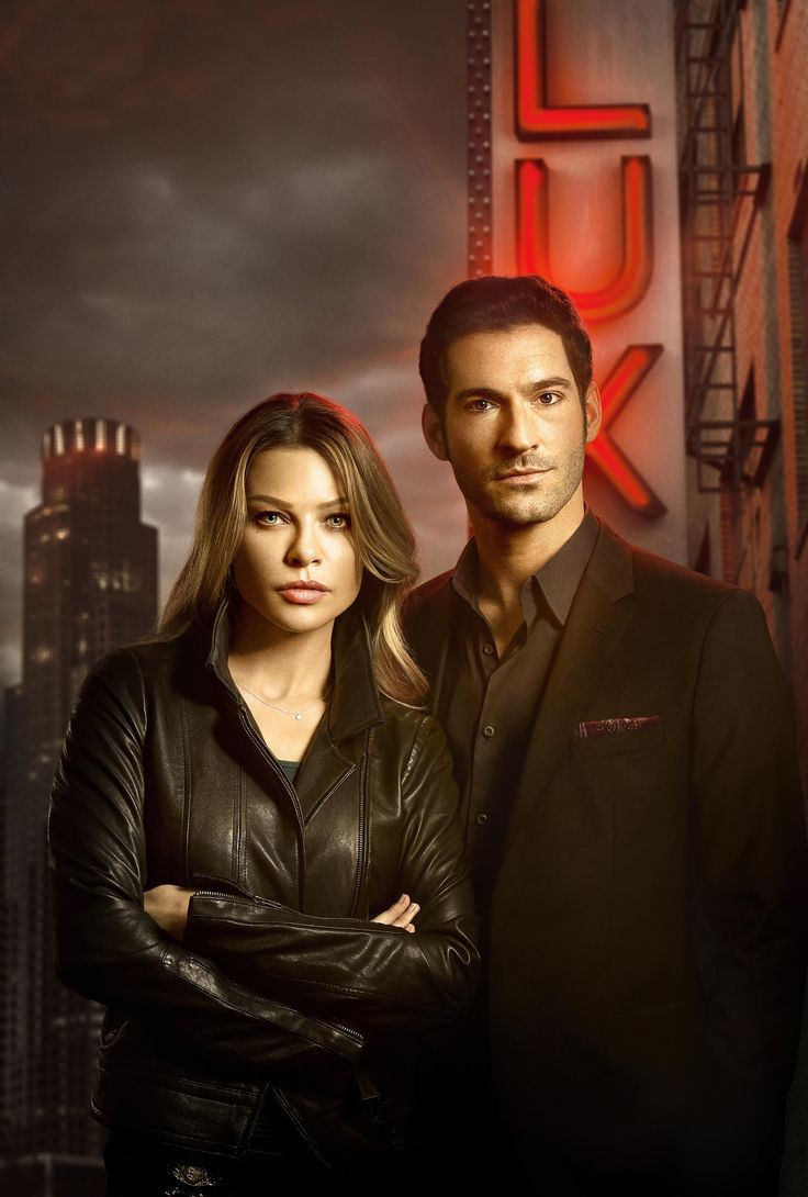 Lauren German & Tom Ellis in Lucifer