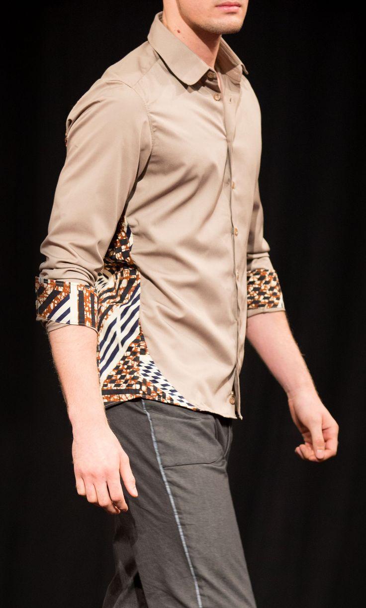 Chemise st Louis Beige - par Kévé - Chemises créatives sur Afrikrea, €75.00