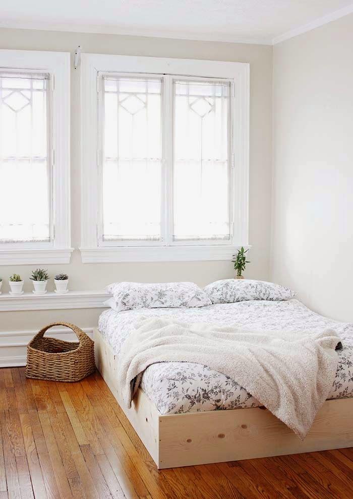 Die besten 25+ Minimalschlafzimmer Ideen auf Pinterest - scheunentor im schlafzimmer ideen einrichtung