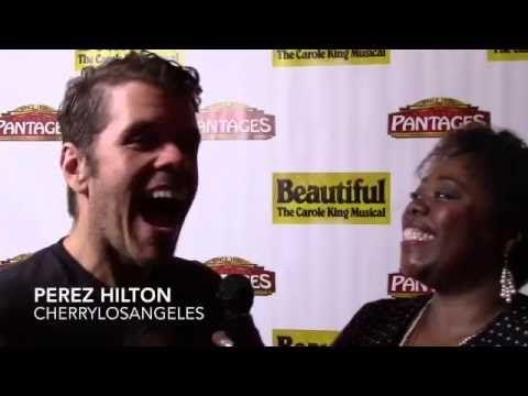 Perez Hilton talks Beautiful Carole King, Hillary Clinton and Current Events @PerezHilton talks @HFA & @BeautifulOnBway @Pantages   #BeautifulOnTour #PerezHilton #HFA