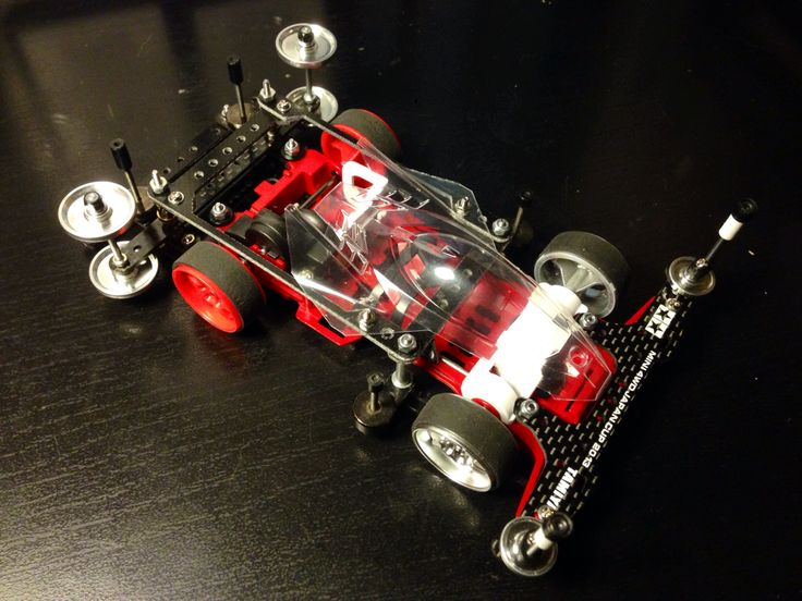 Almost done.. #tamiya #mini4wd #thundershot