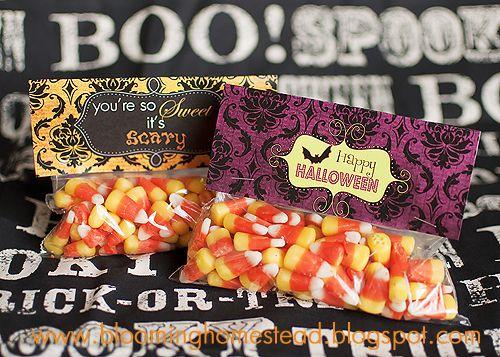 Halloween Bag Toppers {Free Printable} - Blooming Homestead