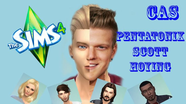 The Sims 4 CAS - Pentatonix  - Scott Hoying