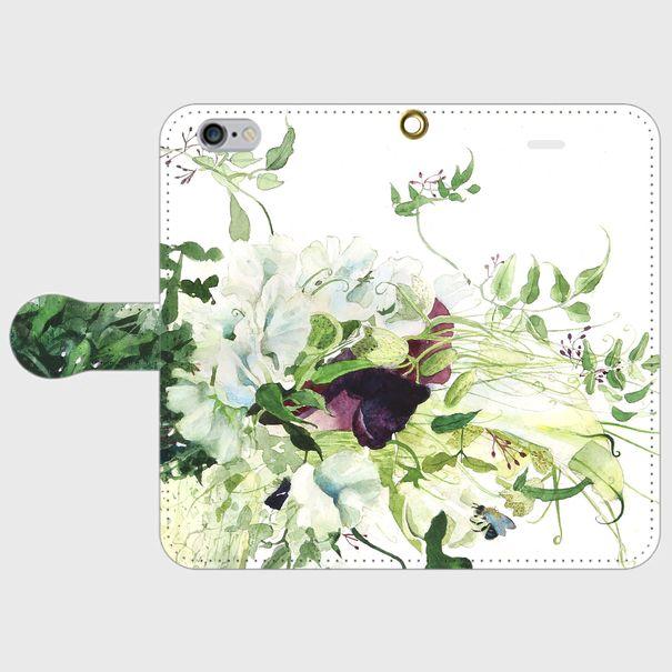 永遠の愛を誓う日2 手帳型スマホケース iPhone6/6s | 彩's watercolor class