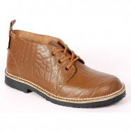 R 599 Freestyle Stefan Mustang (Brown) Genuine Leather Basic Farm Veldskoen in the Old Tradition Handcrafted in South Africa Code: 11201