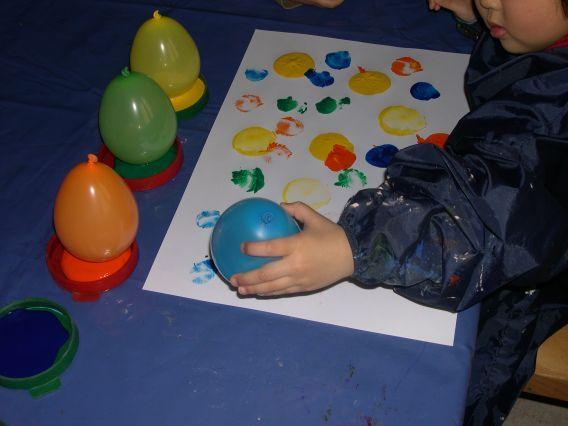 Luftballontag Mit Ballons Tolle Bilder Erstellen Krippe Ideen