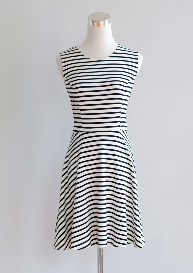 The Brooklyn Knit Dress is a strong contender for your weekly work wardrobe.   Learn how to make this dress, and design your own, with the new book Sew Many Dresses, Sew Little Time!