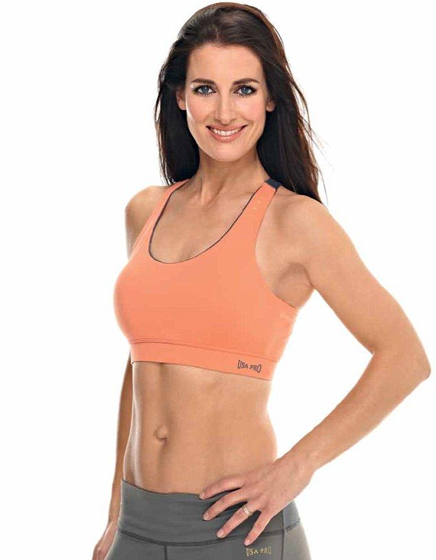 'Paula Radcliffe inspired me to get in shape': Kirsty Gallacher reveals secret to toned abs (...and how you can get the same) | Mail Online