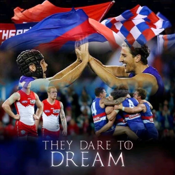 Goodluck today Doggies! Bring home the flag!